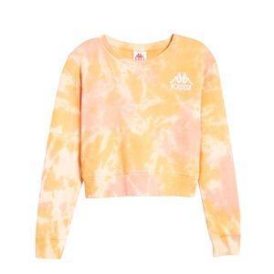 Kappa Active Catros Tie Dye Crop Sweatshirt